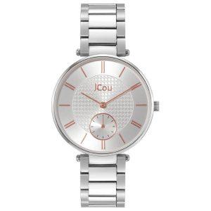 Γυναικείο ρολόι JCOU Majesty II JU19036-1 Ασημί