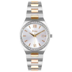 Γυναικείο ρολόι JCOU Esther JU19050-5 Δίχρωμο