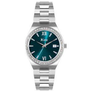 Γυναικείο ρολόι JCOU Esther JU19050-6 Ασημί