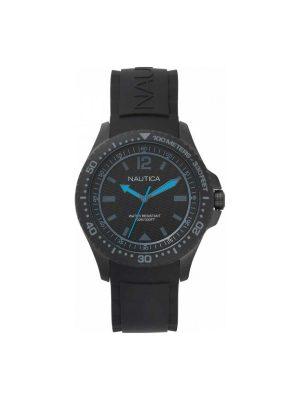 Ανδρικό ρολόι Nautica NAPMAU007 Μαύρο