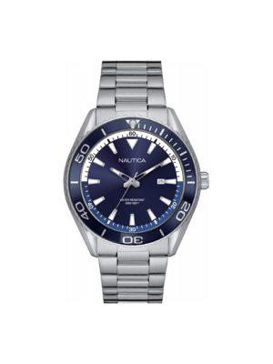 Ανδρικό ρολόι Nautica NAPN03006 Ασημί