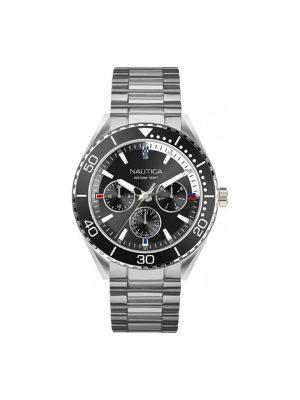 Ανδρικό ρολόι Nautica NAPNAI805 Ασημί