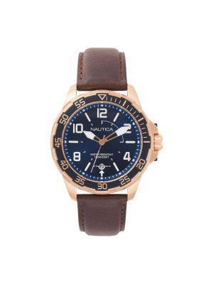 Ανδρικό ρολόι Nautica NAPPLH003 Καφέ