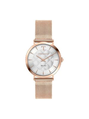 Γυναικείο ρολόι Trussardi R2453140503 Ροζ Χρυσό