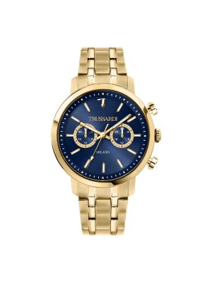 Ανδρικό ρολόι Trussardi R2453147002 Χρυσό