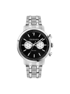 Ανδρικό ρολόι Trussardi R2453147003 Ασημί