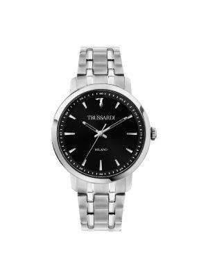 Ανδρικό ρολόι Trussardi R2453147008 Ασημί