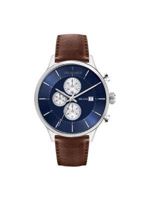 Ανδρικό ρολόι Trussardi R2471630003 Καφέ