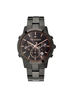 Ανδρικό ρολόι Trussardi R2473617001 Μαύρο