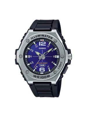 Ανδρικό ρολόι Casio MWA-100H-2AV Μαύρο