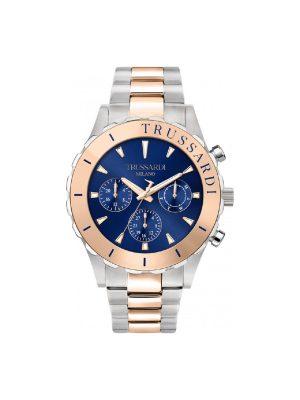 Ανδρικό ρολόι Trussardi T-Logo R2453143003 Δίχρωμο