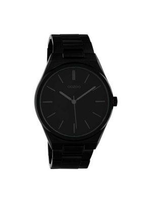 Unisex ρολόι Oozoo C10339 Μαύρο