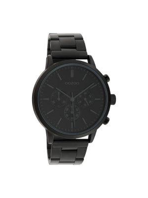 Unisex ρολόι Oozoo C10549 Μαύρο