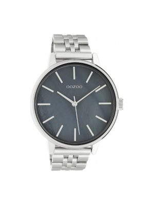 Unisex ρολόι Oozoo C10623 Ασημί