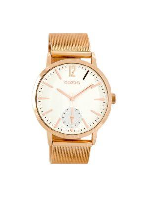 Γυναικείο ρολόι Oozoo C8613 Ροζ χρυσό