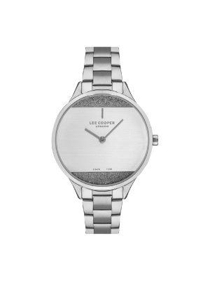 Γυναικείο ρολόι Lee Cooper LC07022.330Ασημί