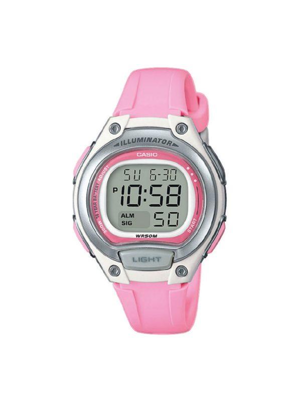 Γυναικείο ρολόι Casio LW-203-4AVEF Ροζ