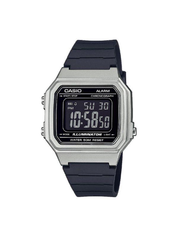 Ανδρικό ρολόι Casio W-217HM-7BVEF Μαύρο