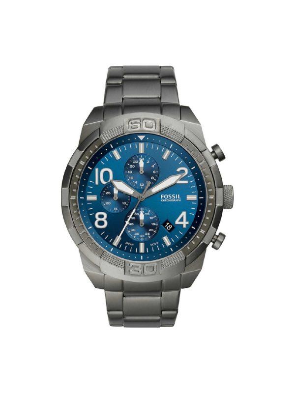 Ανδρικό Ρολόι Fossil Bronson FS5711 Γκρι