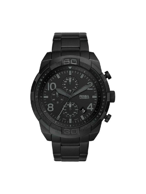 Ανδρικό Ρολόι Fossil Bronson FS5712 Μαύρο