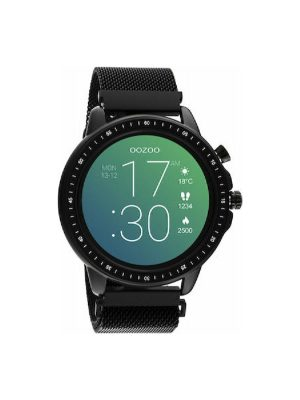 Oozoo smartwatch Q00309 45mm μαύρο