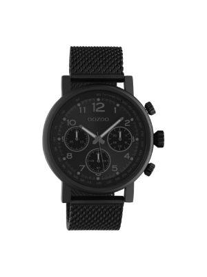 Unisex ρολόι Oozoo C10704 Μαύρο