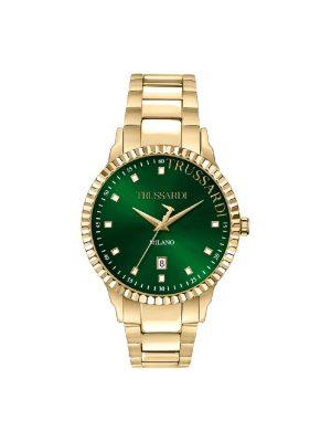 Ανδρικό ρολόι Trussardi T-Bent R2453141006 Χρυσό