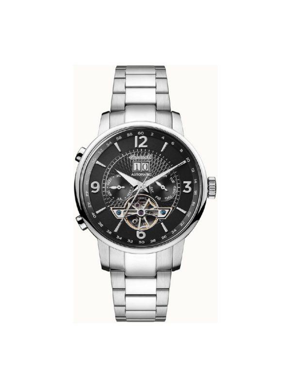 Ανδρικό ρολόι Ingersoll Grafton I00704 Ασημί Μπρασελέ