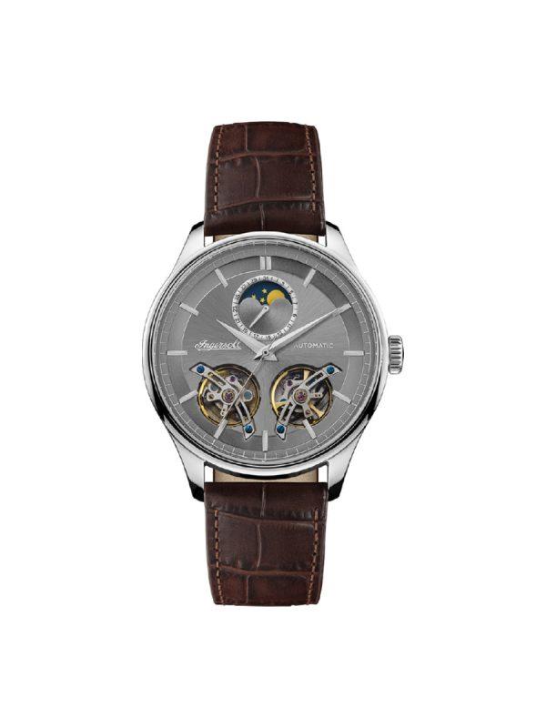 Ανδρικό ρολόι Ingersoll Chord I07201 Καφέ Λουράκι