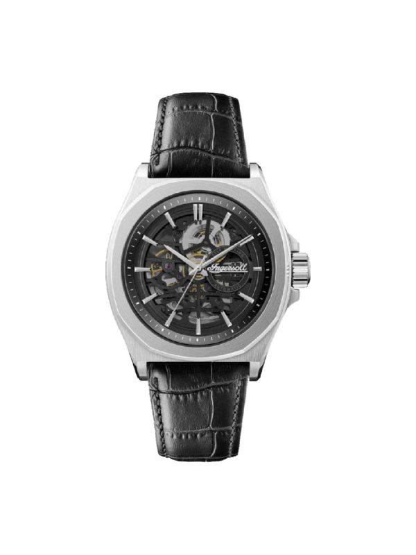 Ανδρικό ρολόι Ingersoll Orville I09302B Μαύρο Λουράκι