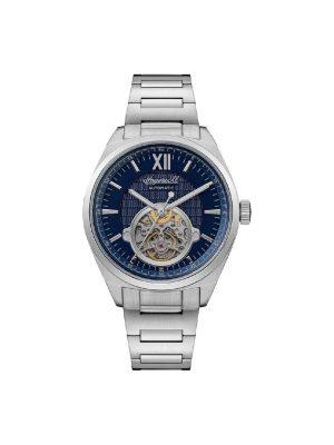Ανδρικό ρολόι Ingersoll Shelby I10902 Ασημί Μπρασελέ
