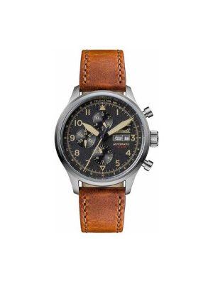 Ανδρικό ρολόι Ingersoll The Bateman IO1902 Καφέ Λουράκι