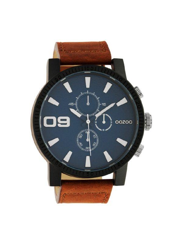 Ανδρικό ρολόι Oozoo C10672 Καφέ