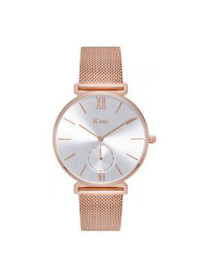 Γυναικείο ρολόι JCOU Grace JU17145-5Ροζ Χρυσό