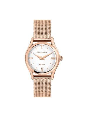 Γυναικείο ρολόι Trussardi T-Light R2453127507 Ροζ Χρυσό