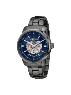Ανδρικό Ρολόι Maserati Successo R8823121001 Ανθρακί