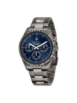 Ανδρικό Ρολόι Maserati Competizione R8853100019 Γκρι