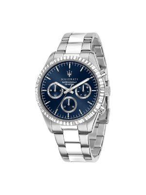 Ανδρικό Ρολόι Maserati Competizione R8853100022 Ασημί
