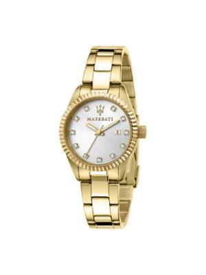 Γυναικείο Ρολόι Maserati Competizione R8853100506 Χρυσό