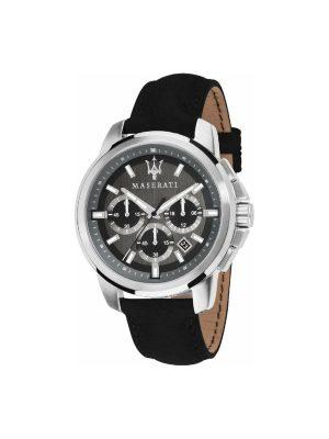 Ανδρικό Ρολόι Maserati Successo R8871621006 Μαύρο