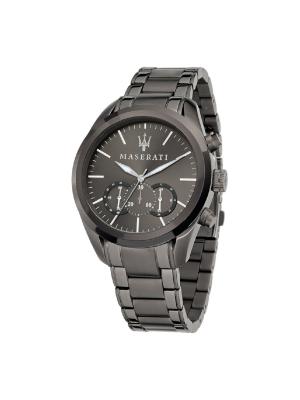 Ανδρικό Ρολόι Maserati Traguardo R8873612002 Ανθρακί