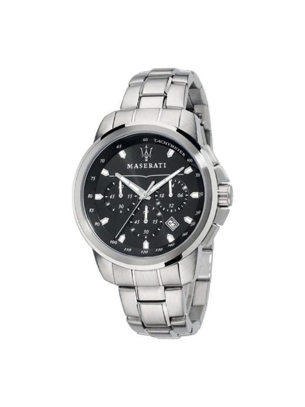 Ανδρικό Ρολόι Maserati Successo R8873621001 Ασημί