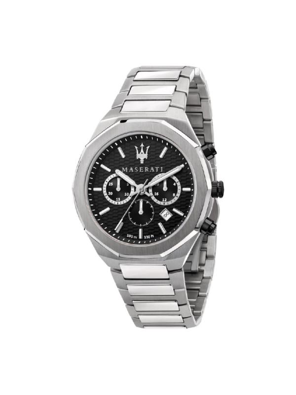 Ανδρικό Ρολόι Maserati Stile R8873642004 Ασημί