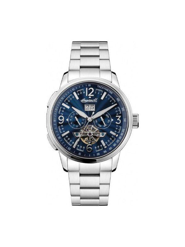 Ανδρικό ρολόι Ingersoll The Regent I00305B Ασημί Μπρασελέ