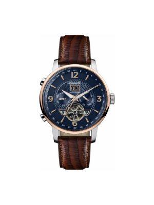 Ανδρικό ρολόι Ingersoll Grafton I00703B Καφέ Λουράκι