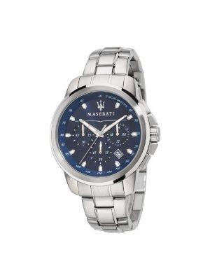 Ανδρικό Ρολόι Maserati Successo R8873621002 Ασημί