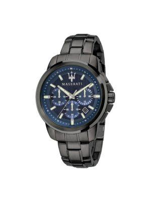 Ανδρικό Ρολόι Maserati Successo R8873621005 Μαύρο