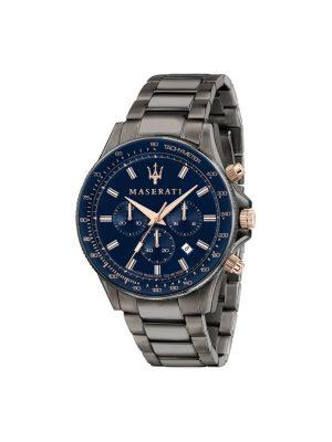 Ανδρικό Ρολόι Maserati Sfida R8873640001 Γκρι