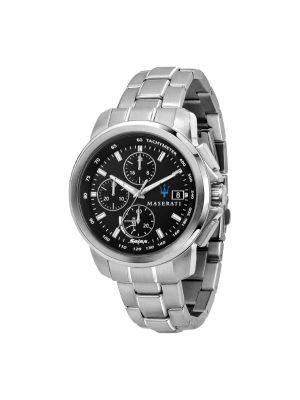 Ανδρικό Ρολόι Maserati Successo R8873645003 Ασημί