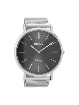 Γυναικείο ρολόι Oozoo C9937 Ασημί